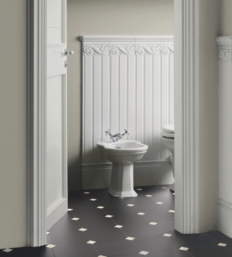 Collezione retr 2 piastrelle e ceramiche matt pavimento ceramiche grazia - Mobili bagno retro ...